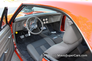 supercharged camaro interior
