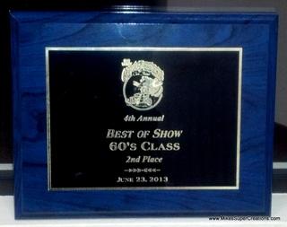 062313 Car Show Award
