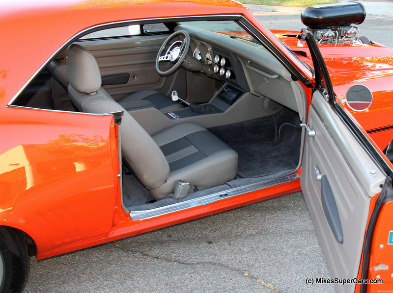 Suoercharged Camaro Interior