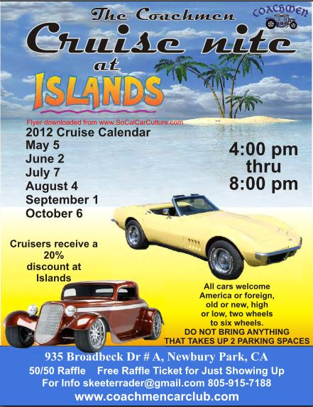 Coachmen Car Club Flyer