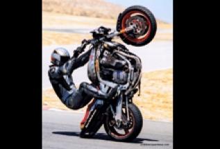Suzuki Stunt Bike